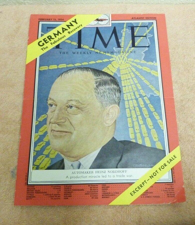 1954 Time Magazine