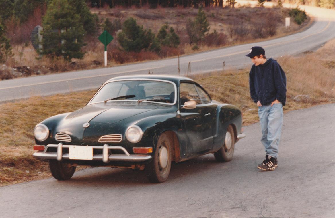 Henry checks out the Ghia