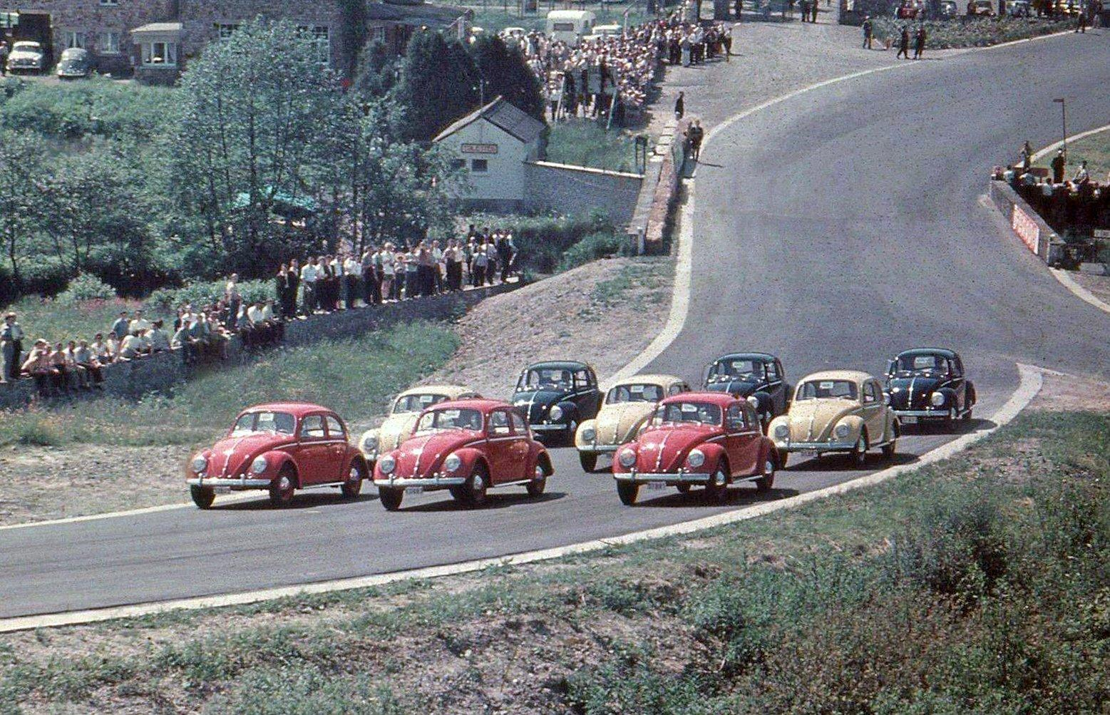 Beetles at Spa Francorchamps - Enhanced
