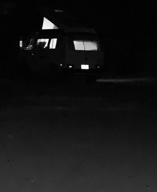 night at the Pinnacles