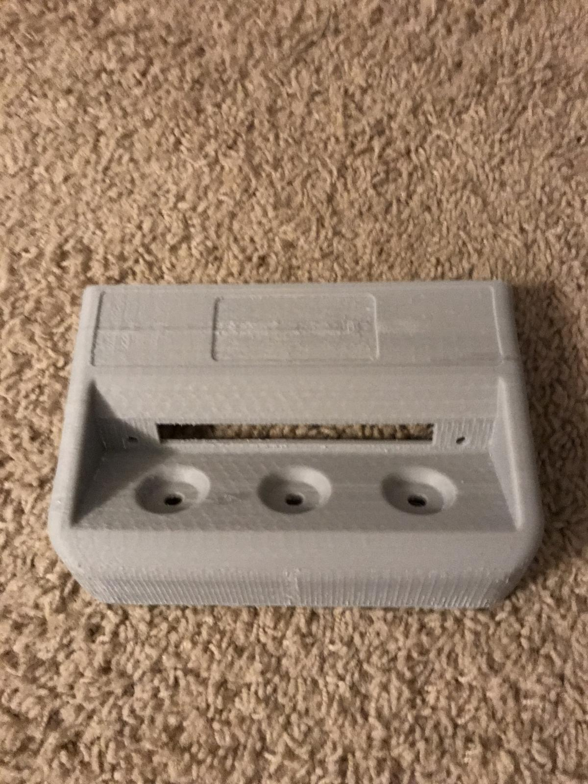 3D printed syncro diff lock panel