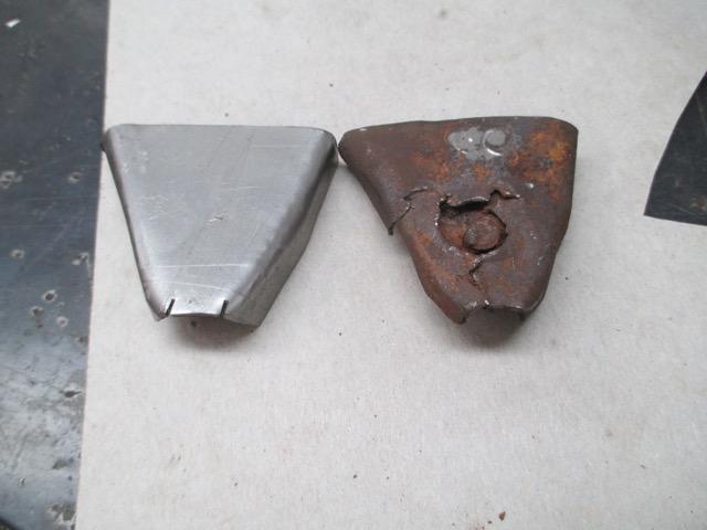 Cutting into 1954 Canadian Custom