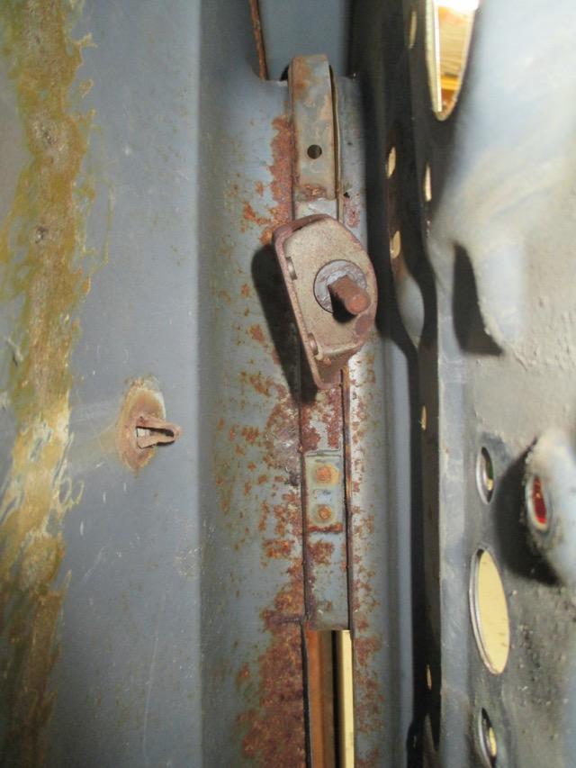 sheet metal repair to 1954 Canadian Custom