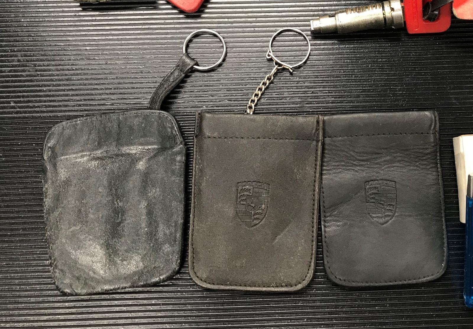 Different Porsche Key Fobs / Pouches