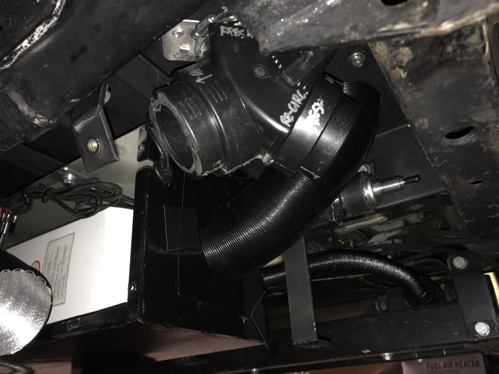 Battle Jitney Inexpensive Chinese diesel heater Install