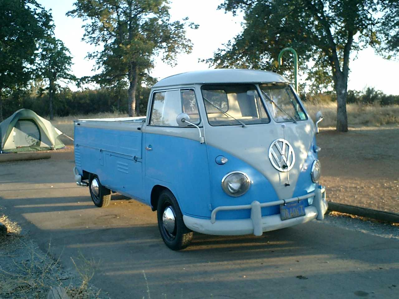 1960 Single Cab with early beetle smoothies