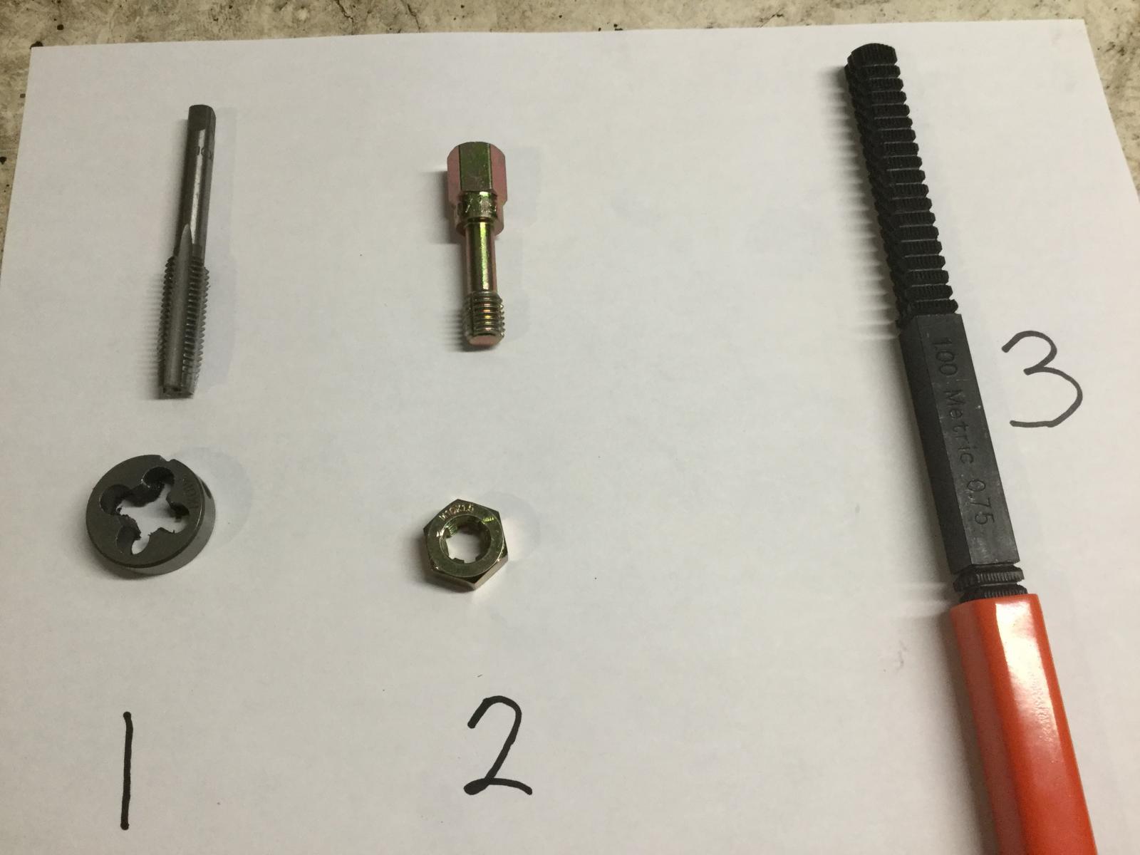 Thread restorer tools