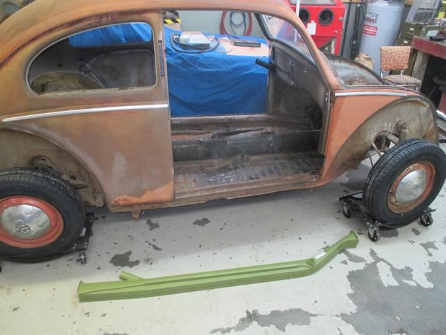 1954 Canadian custom tear down