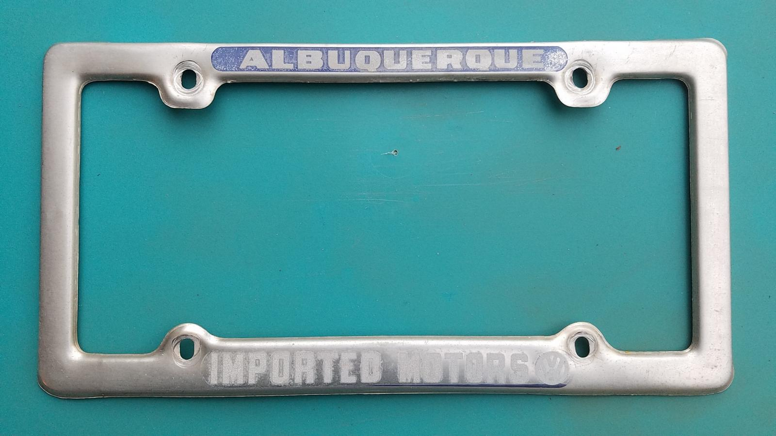 Imported Motors, Inc Licence Plate