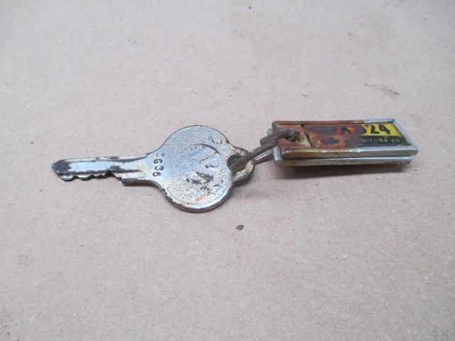 The key for my 1954 Canadian custom