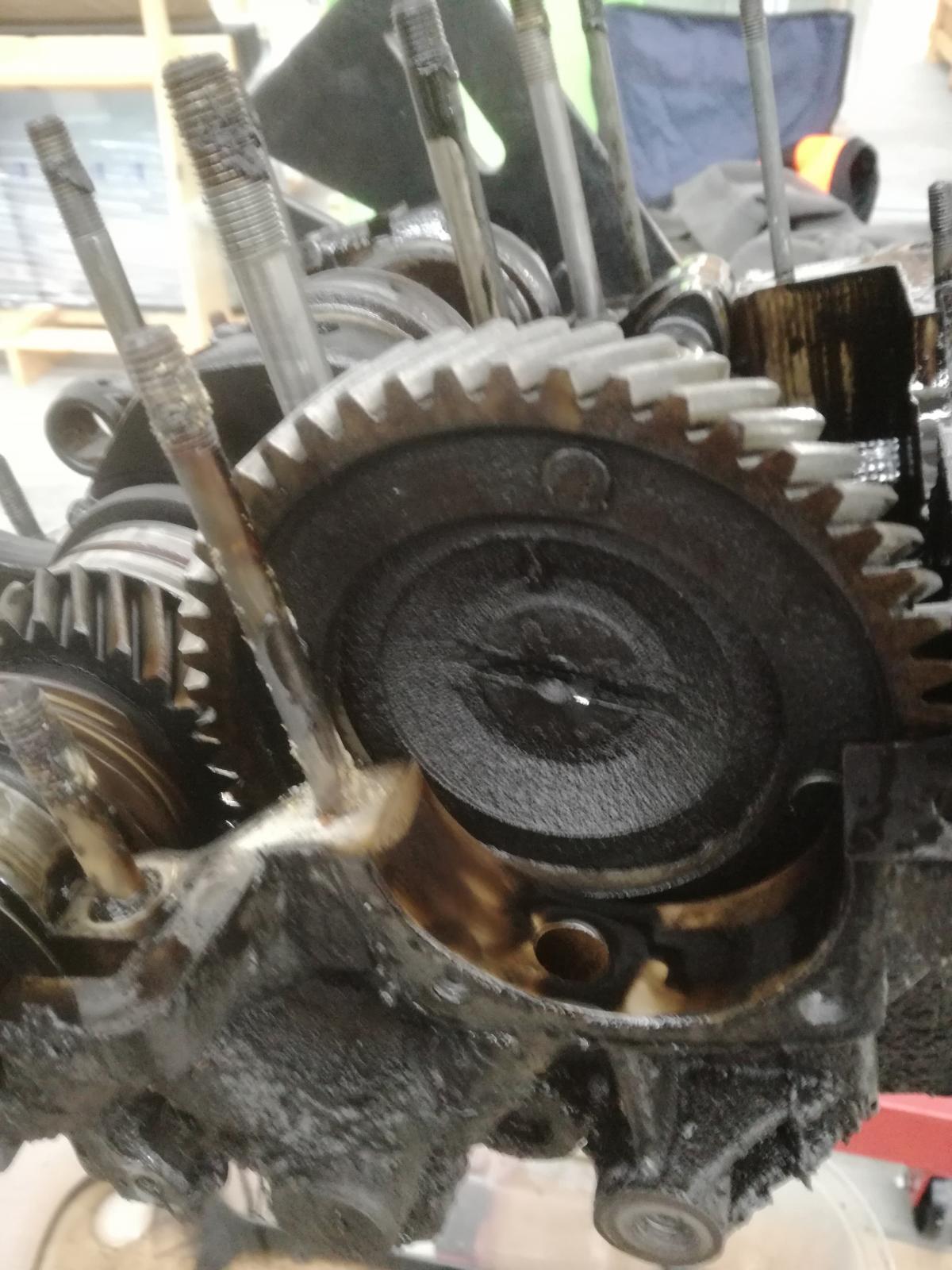 Vw bay engine