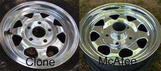 Gurney / McAfee Aluminum Wheels