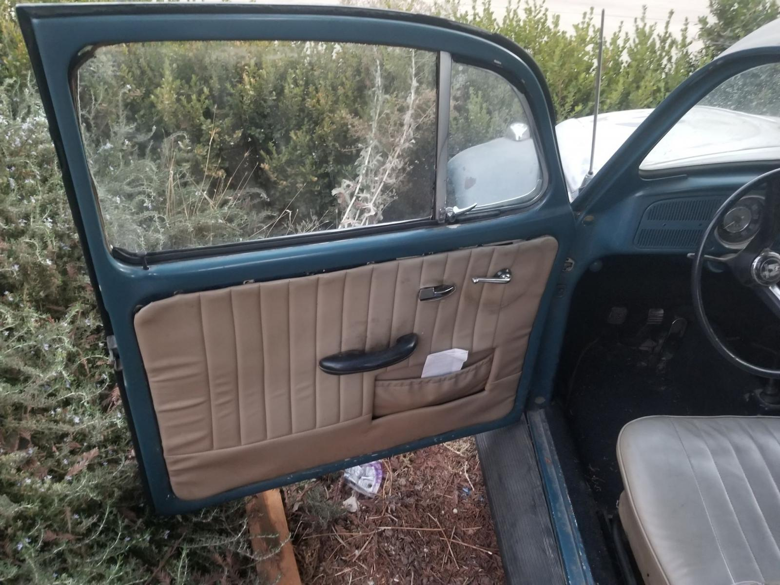 1967 (Euro) Volkwagen Beetle for US market.
