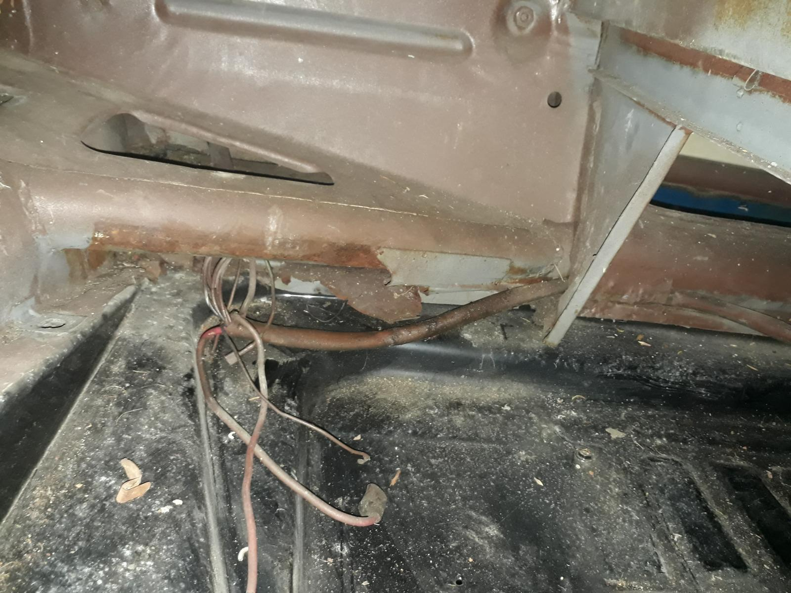 1954 RHD Cabrio wiring loom 1