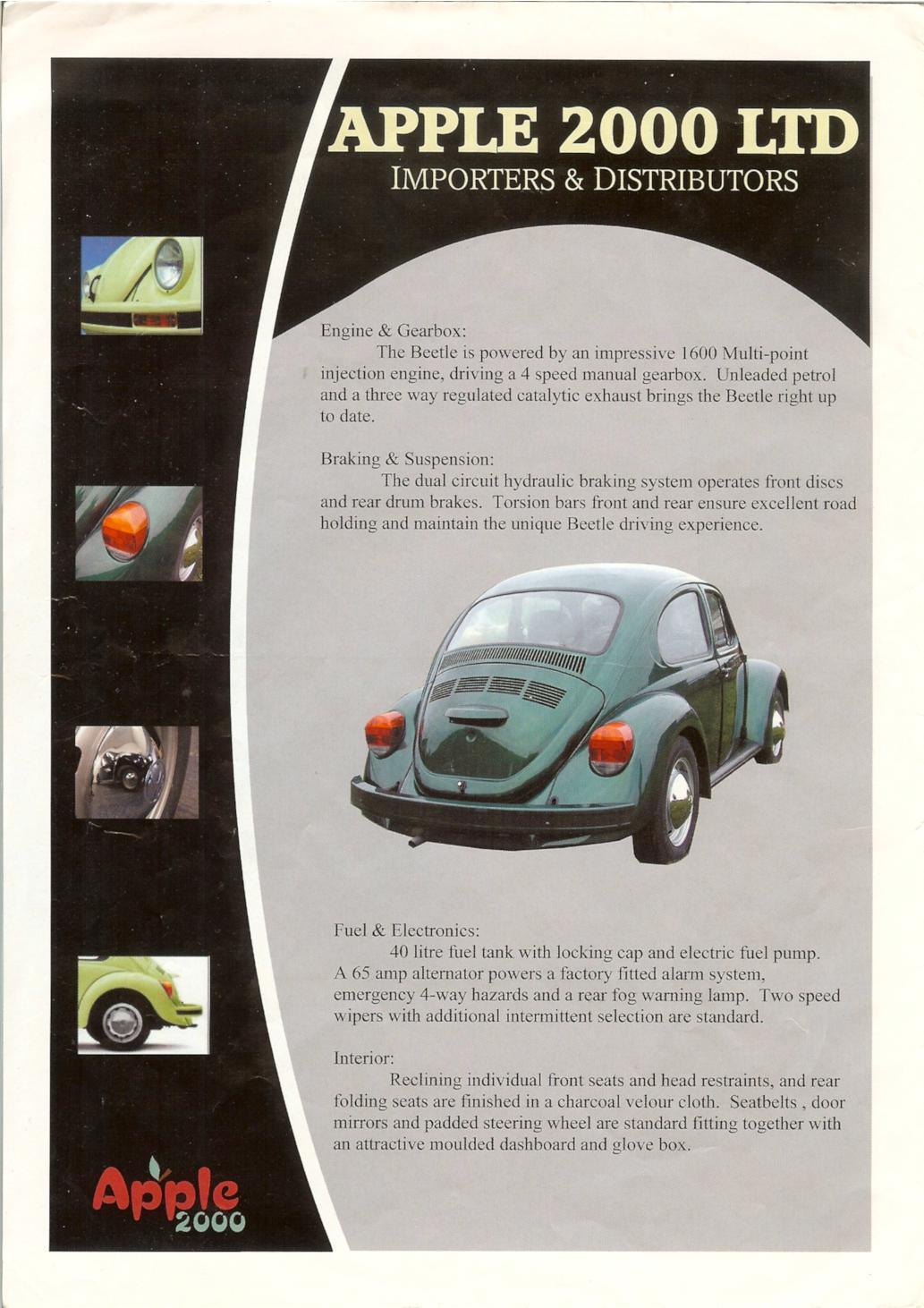 Apple 2000 (UK) Mexican Beetle Flyer