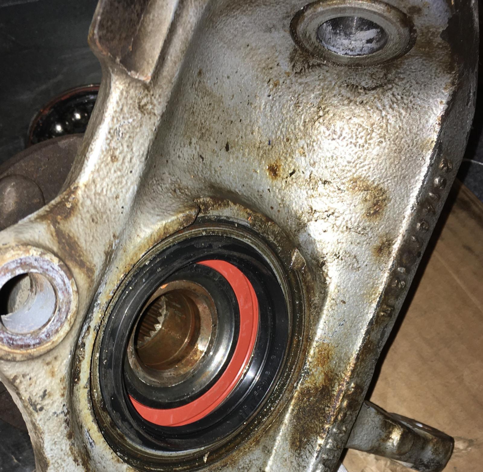 New bearing syncro