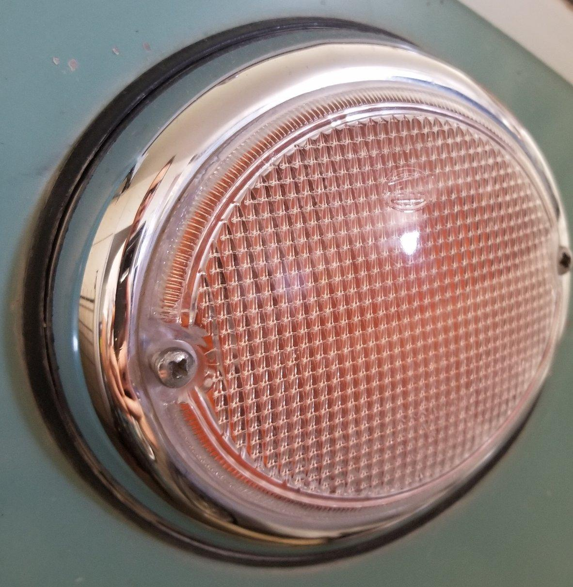 Wolfsburg West reproduction front turn signal lenses