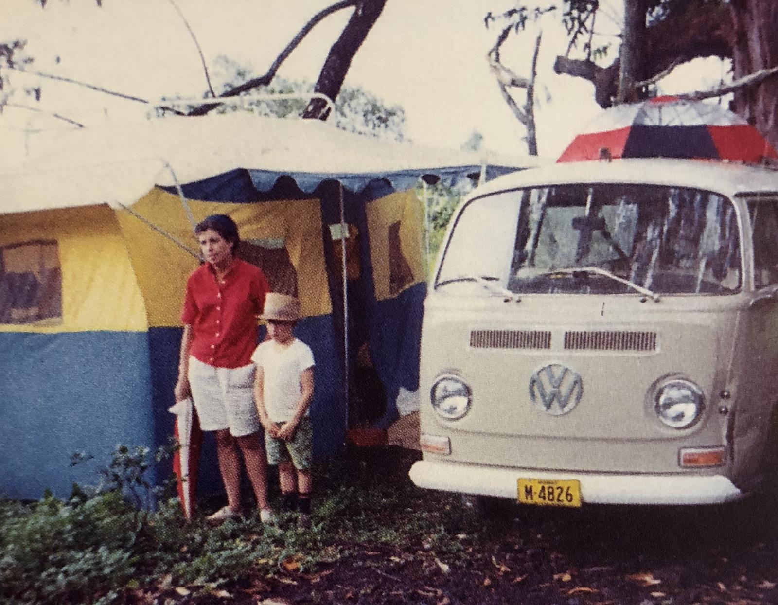 Camping in 1968 Hawai'i
