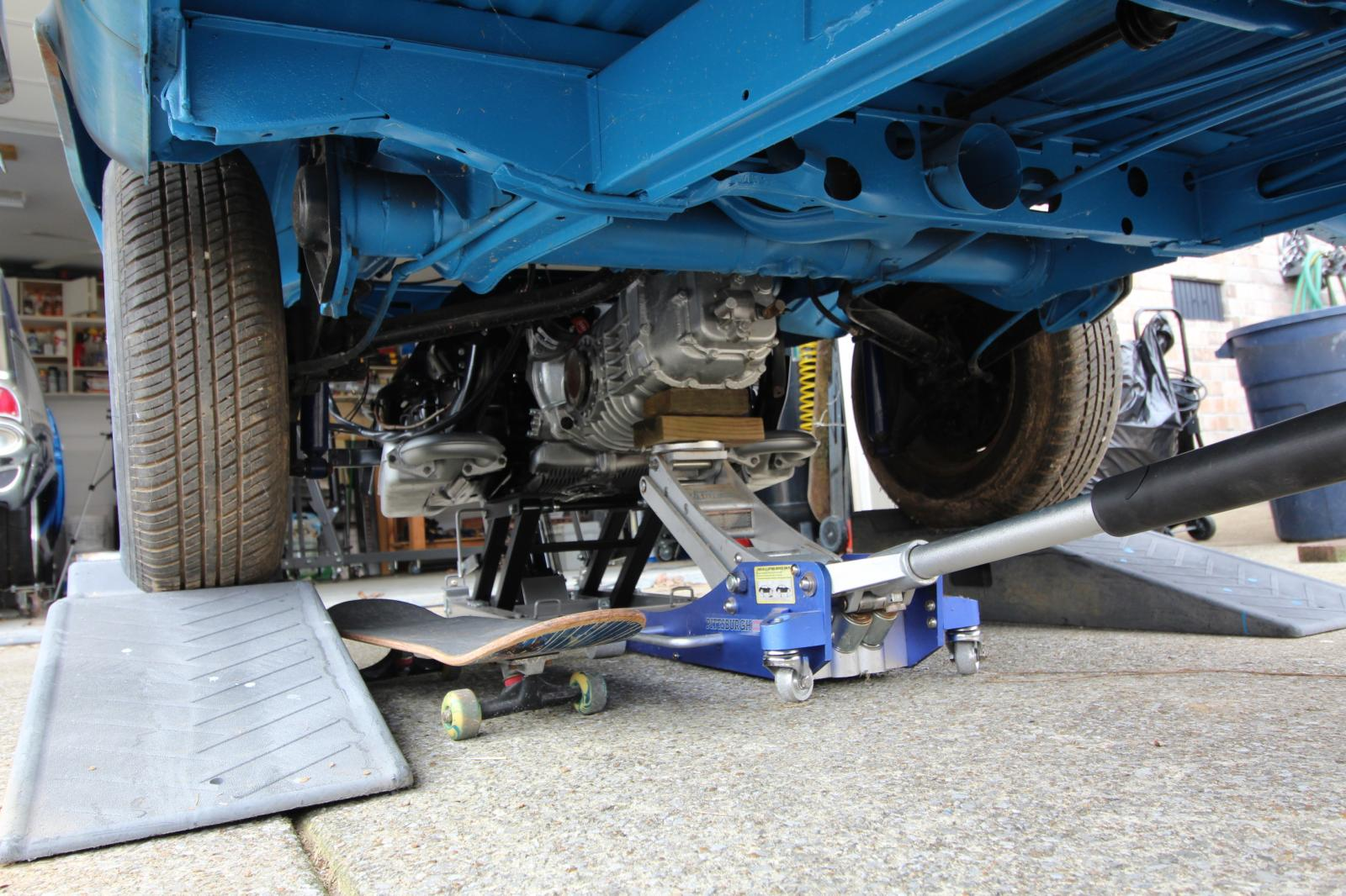 1978 VW Bus Engine Install