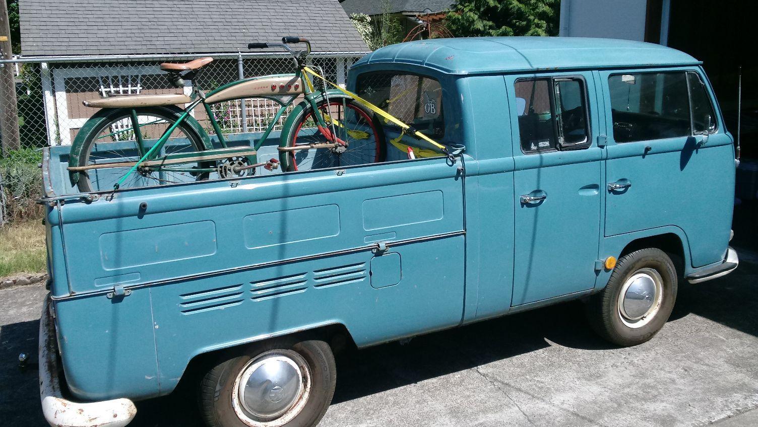 '68 Neptune Blue Truck