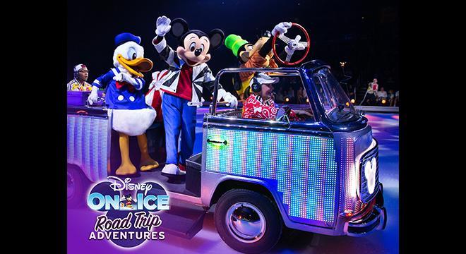 Disney on Ice Road Trip Bay window bus