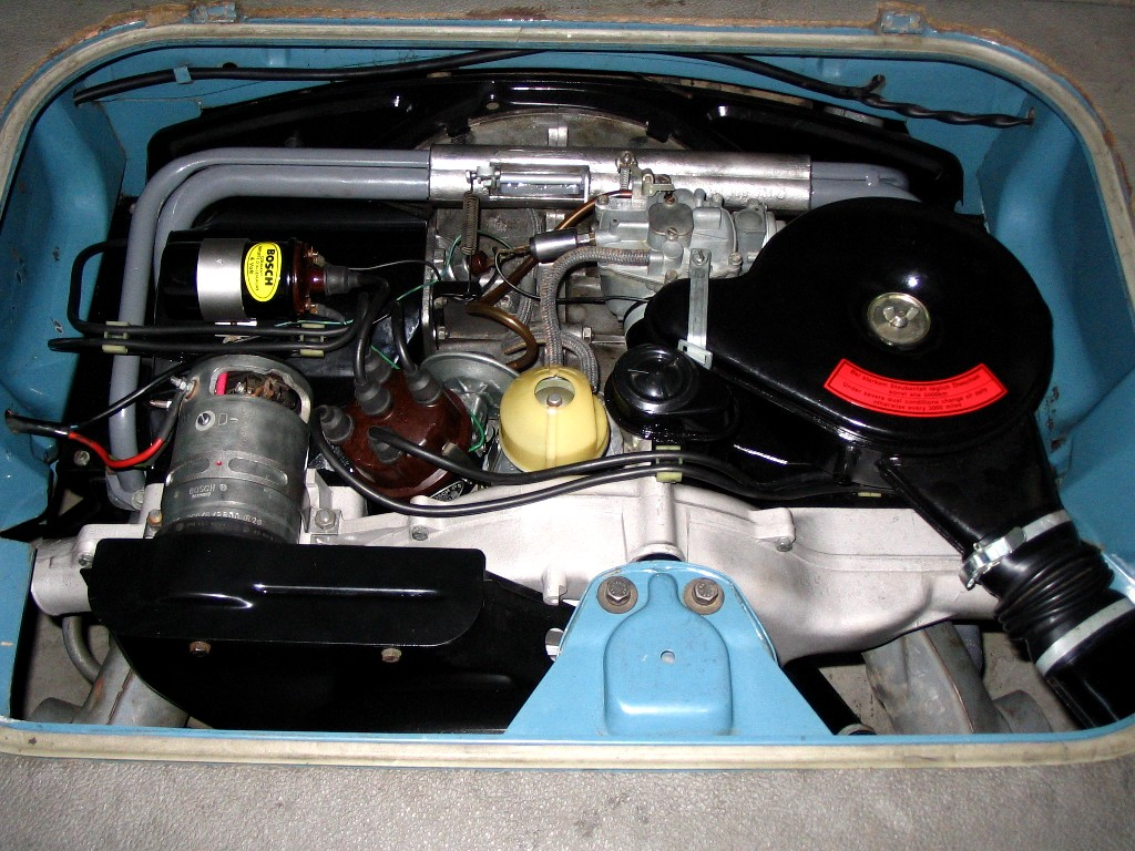 Fresh OEM 62 notchback motor