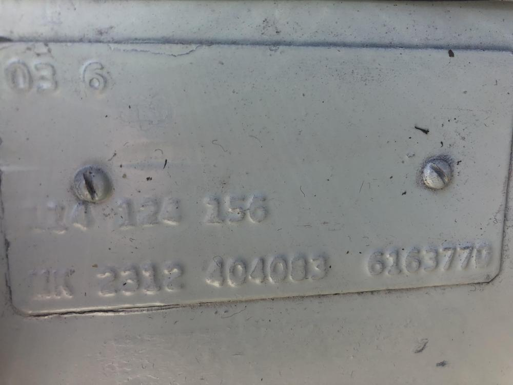 '66 M-code plate M-124 + Export code MK