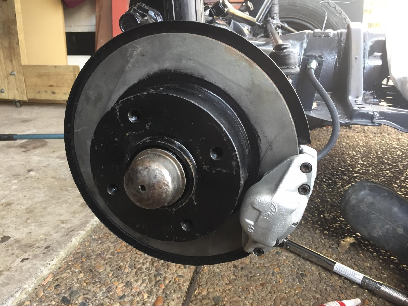 ATE Disc Brake OEM ATE 1968 RHD