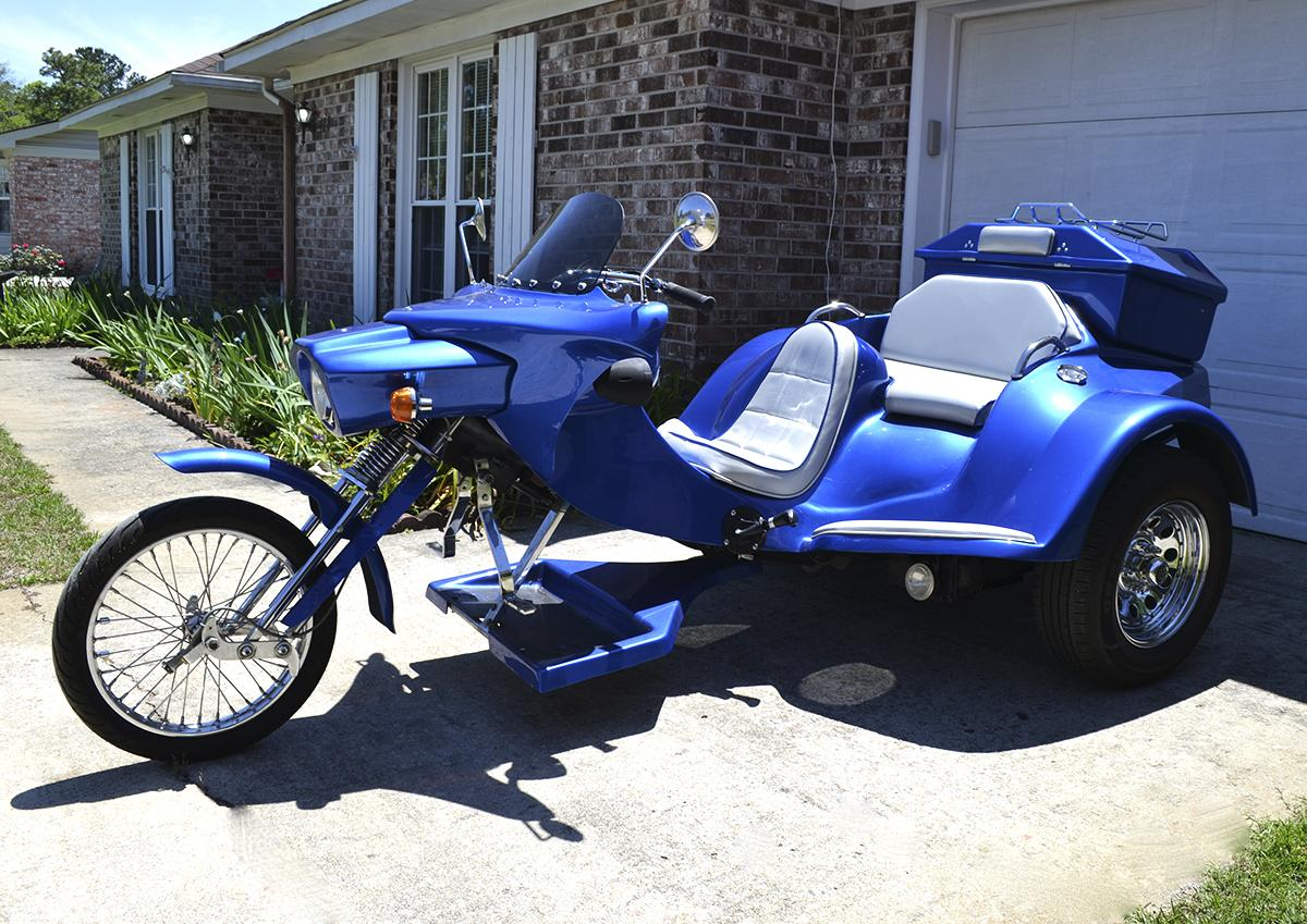Thesamba Com Other Vw Vehicles Volksrods View Topic What Have You Done To Your Vw Trike Lately