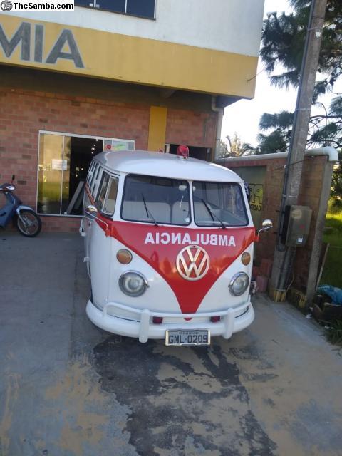 My 1974 Brazilian Ambulance Bus