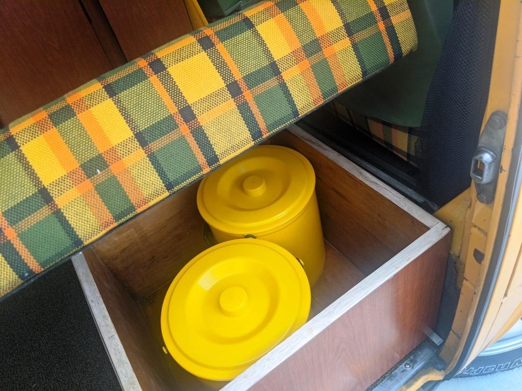 Large Westfalia Box - Dual Poo Pail