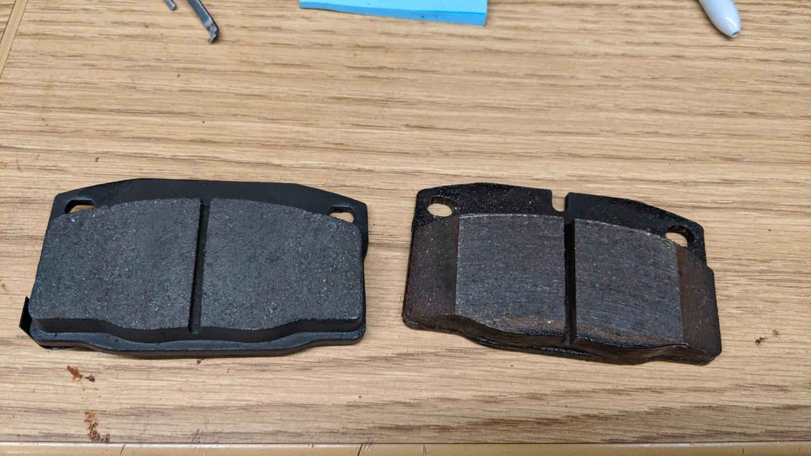 CSP front disc brake pads