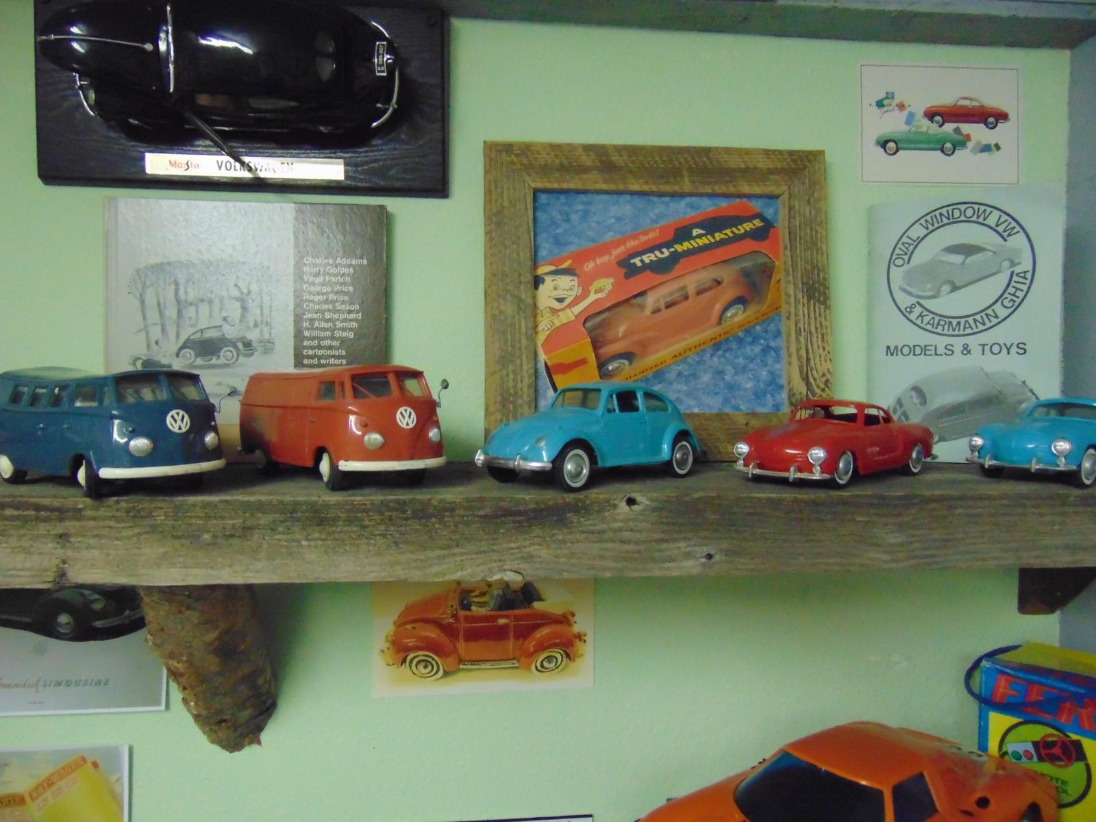Plastic VW Toys
