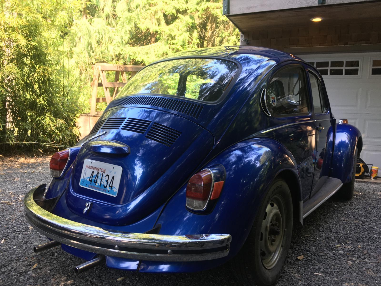 Leo 1972 Super Beetle Sunroof - Exterior Walk Around