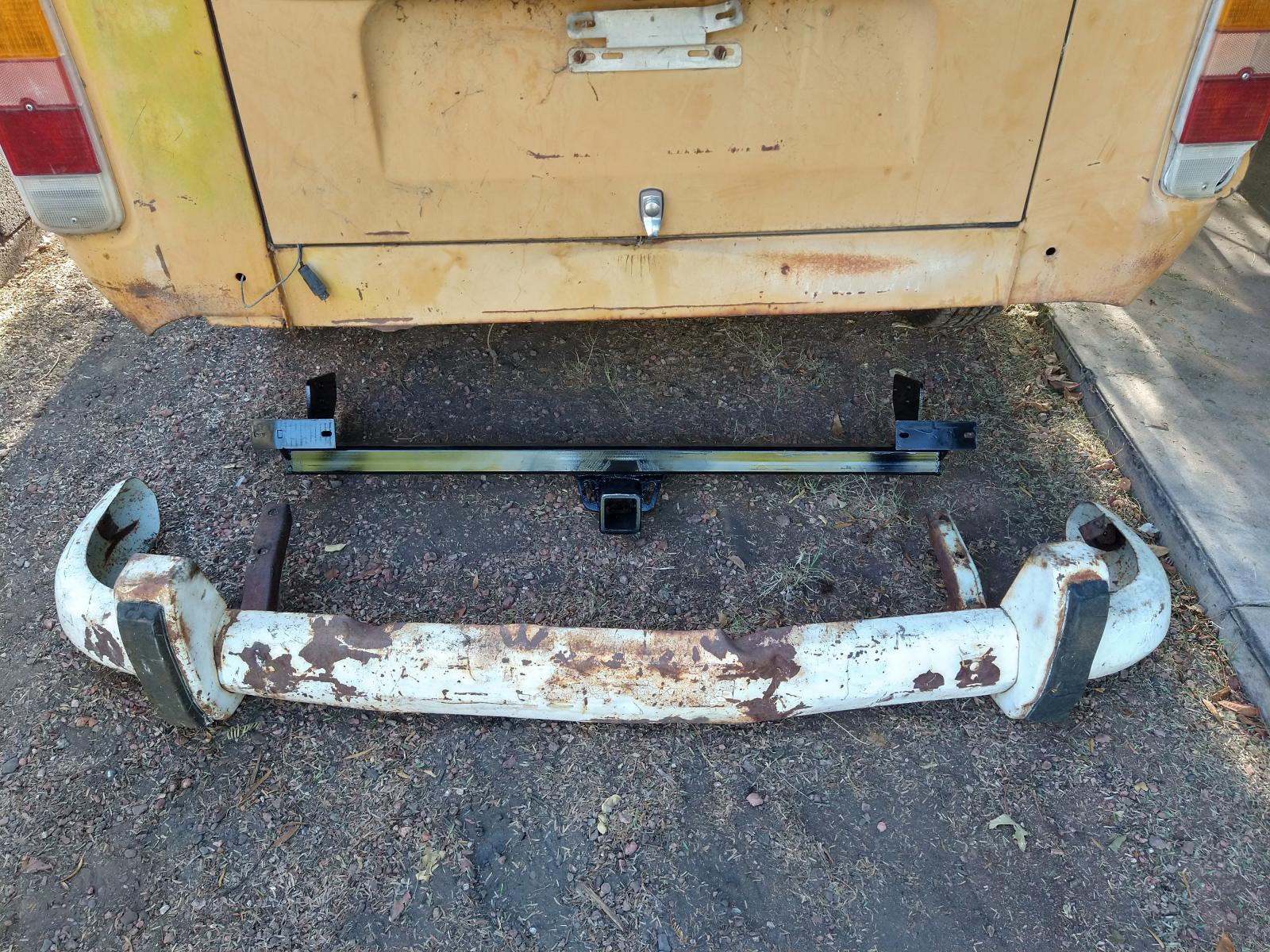 bumper hitch for 72