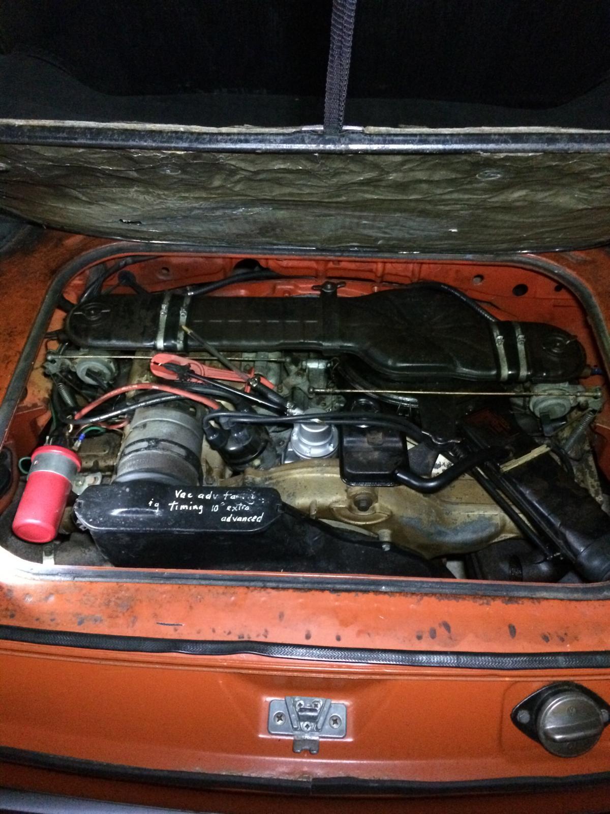 pancake engine, New fuel pump