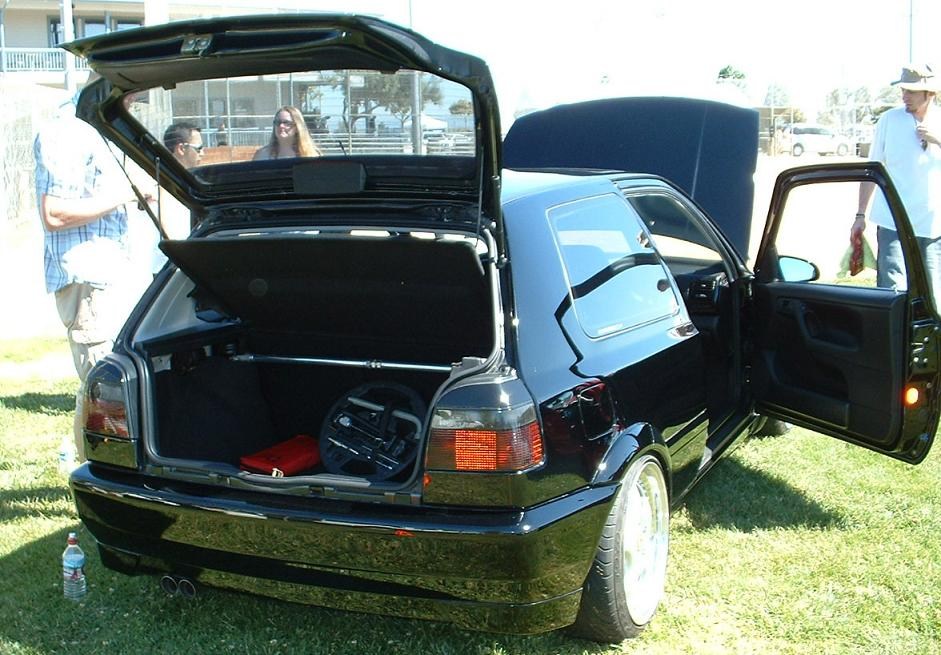 best mk3 golf at the show