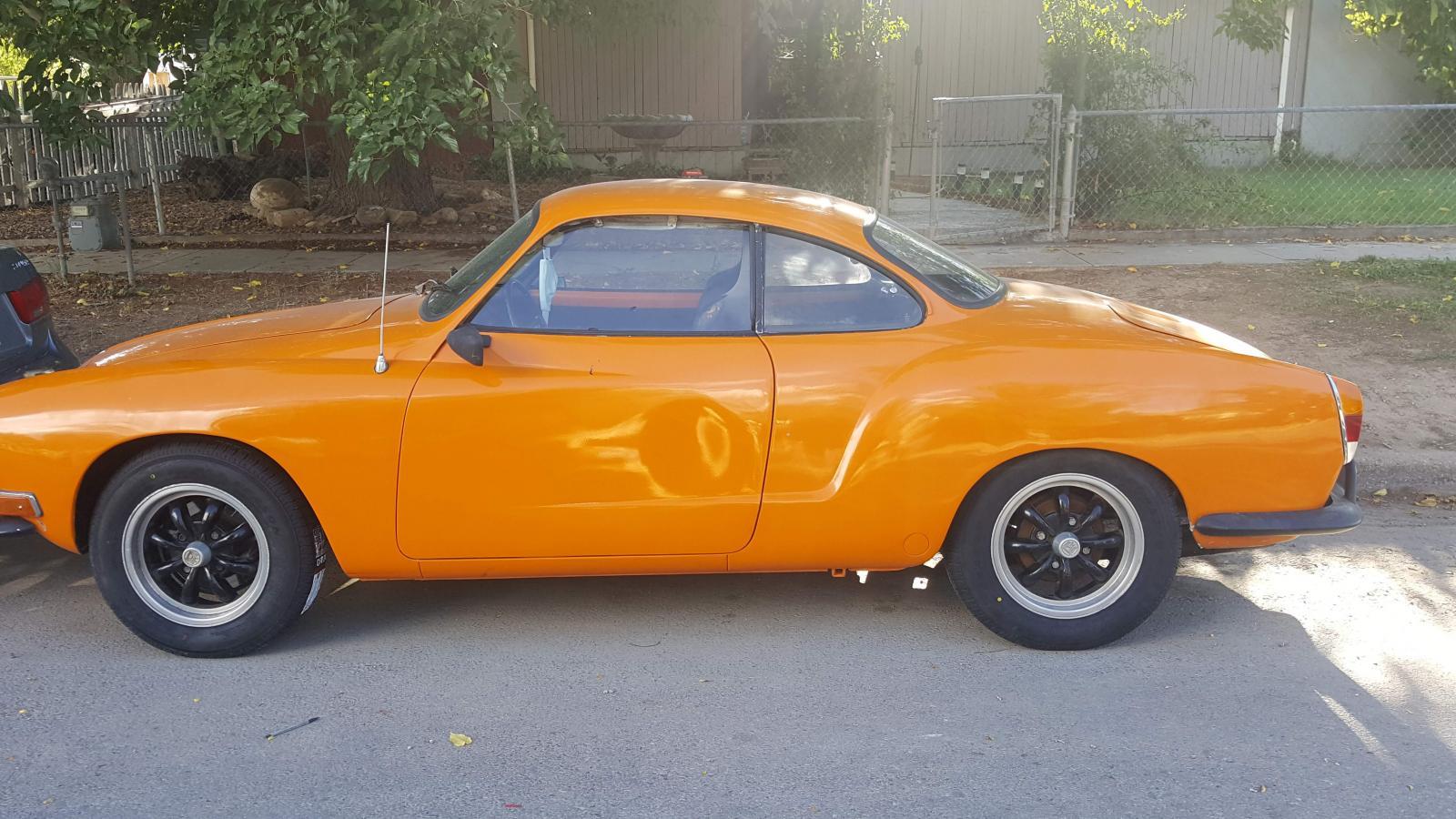 1970 Ghia in Amber
