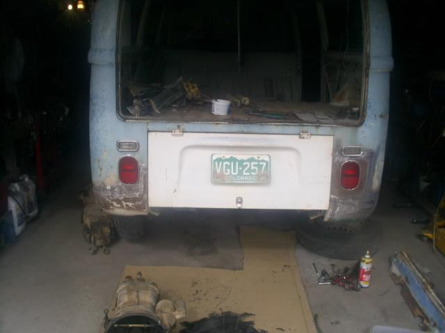69 Westy repairs