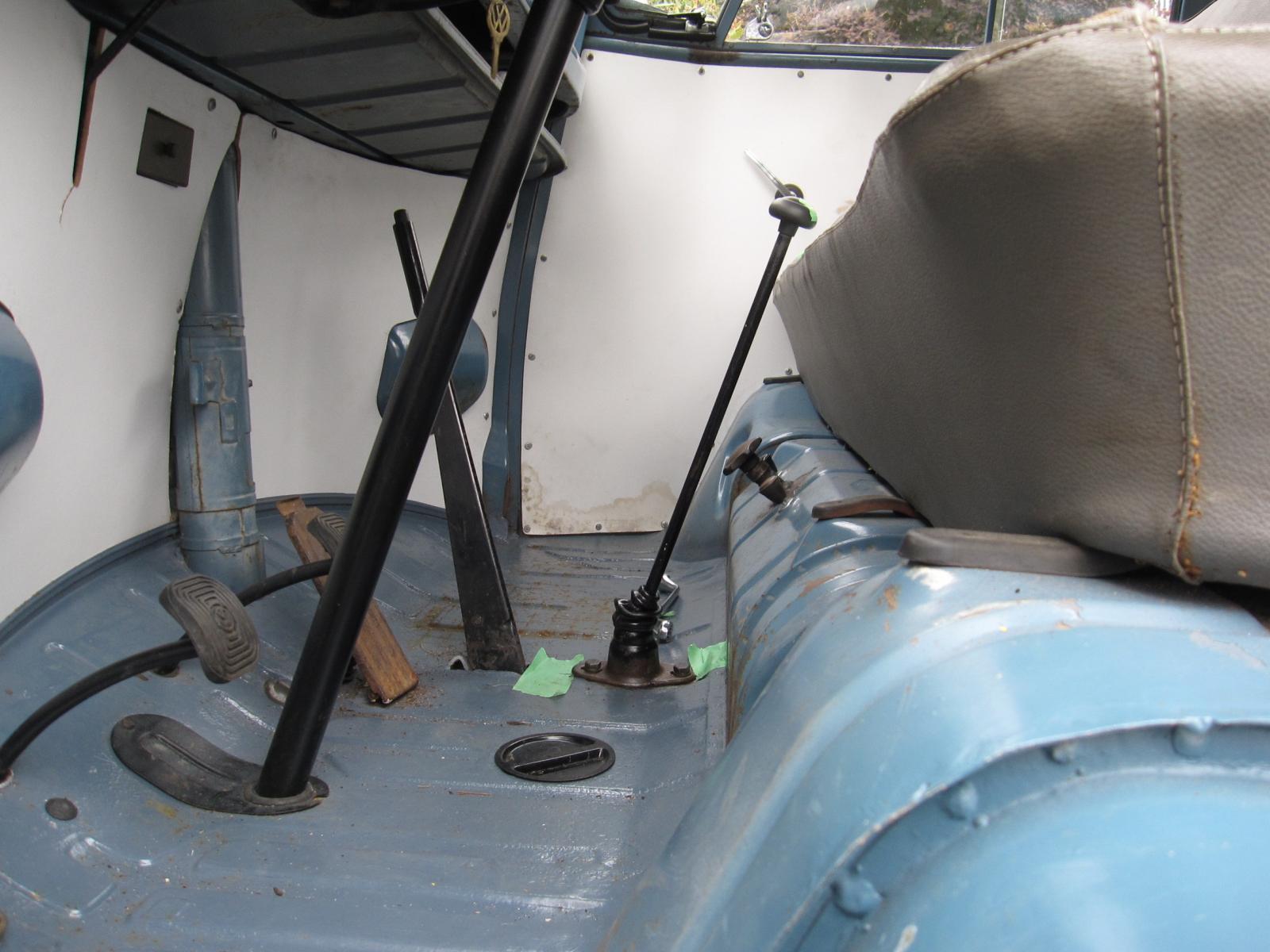 58 kombi shifter adjustment