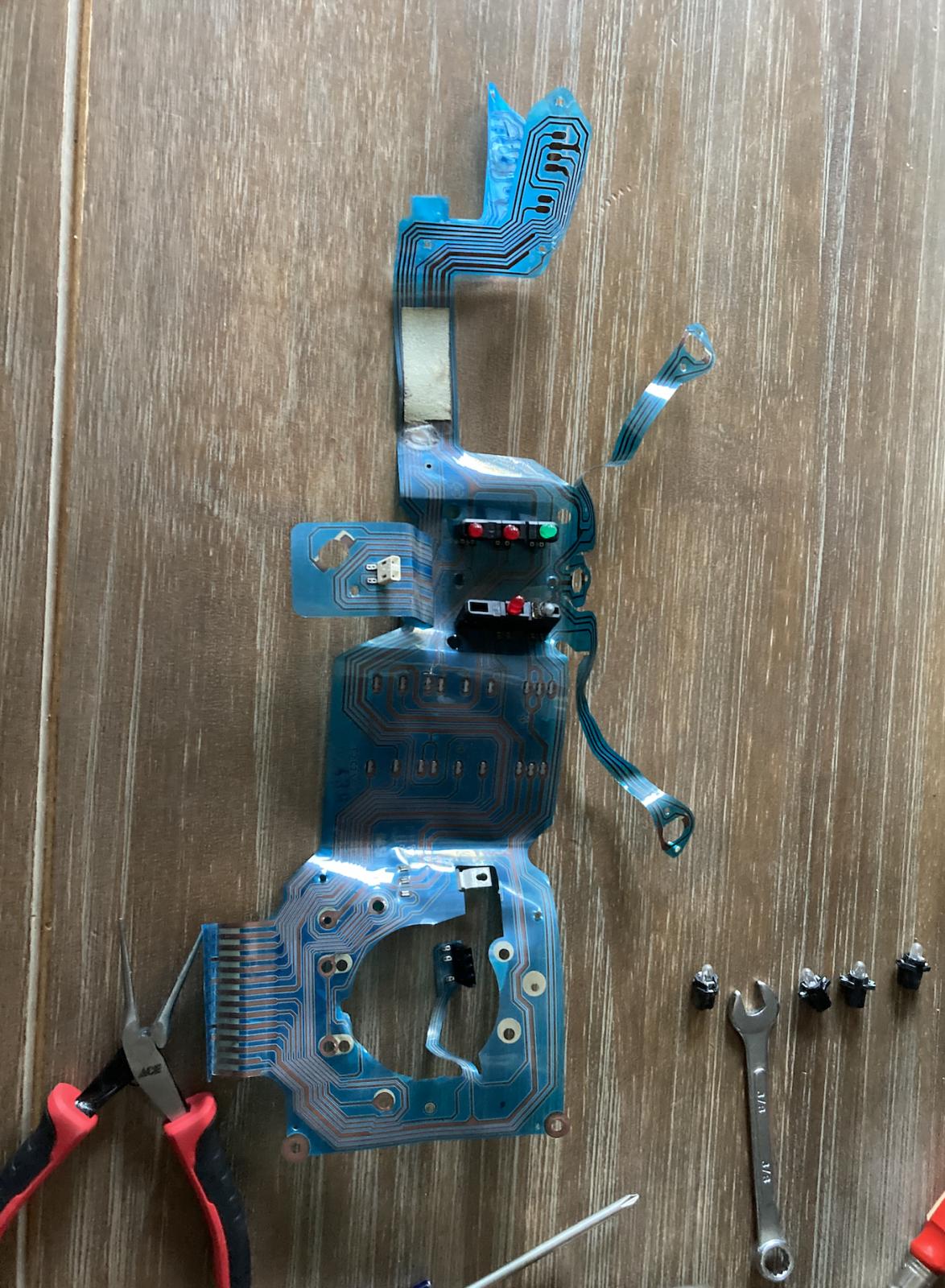blue foil repair