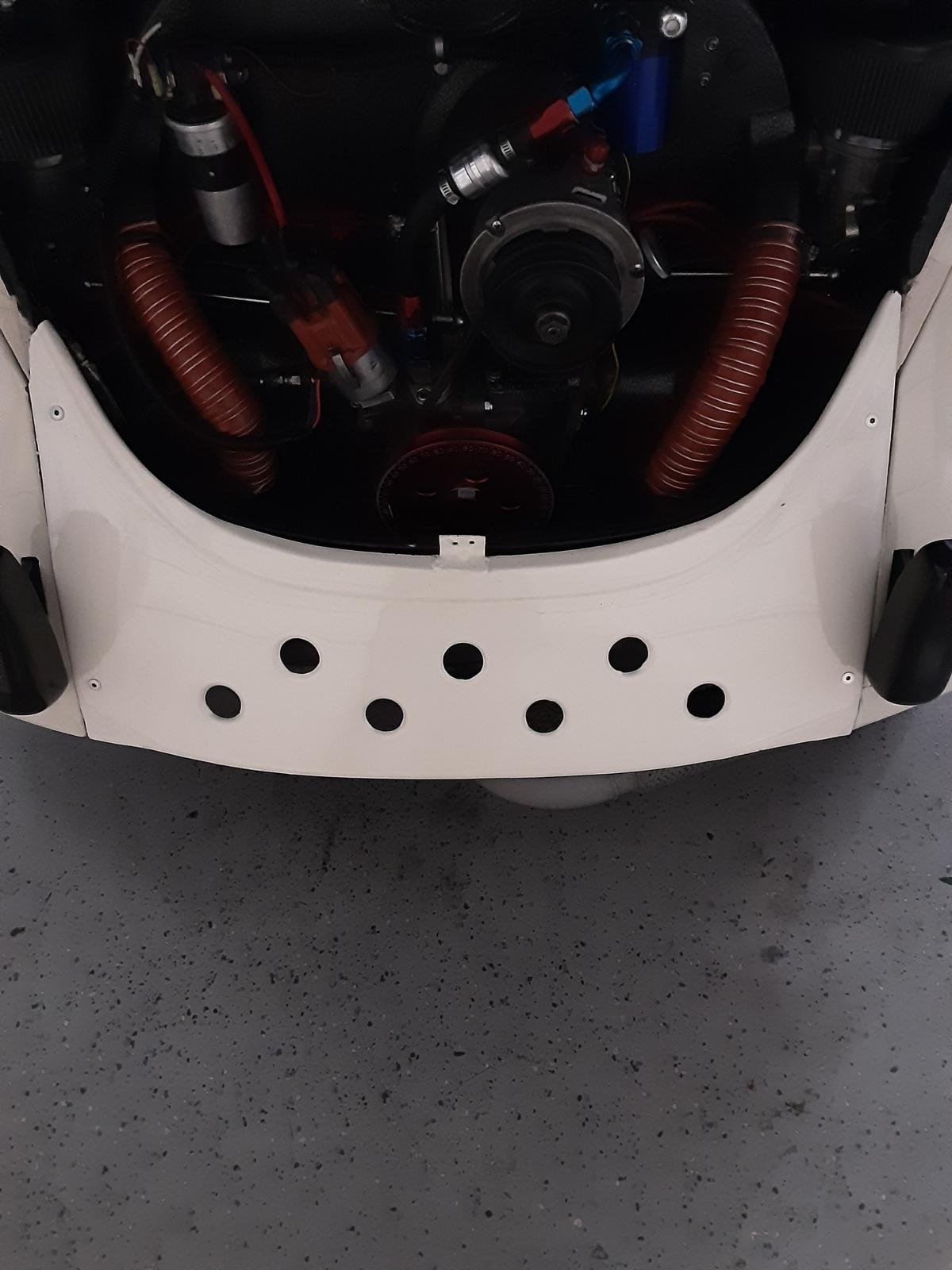 Removable rear panel