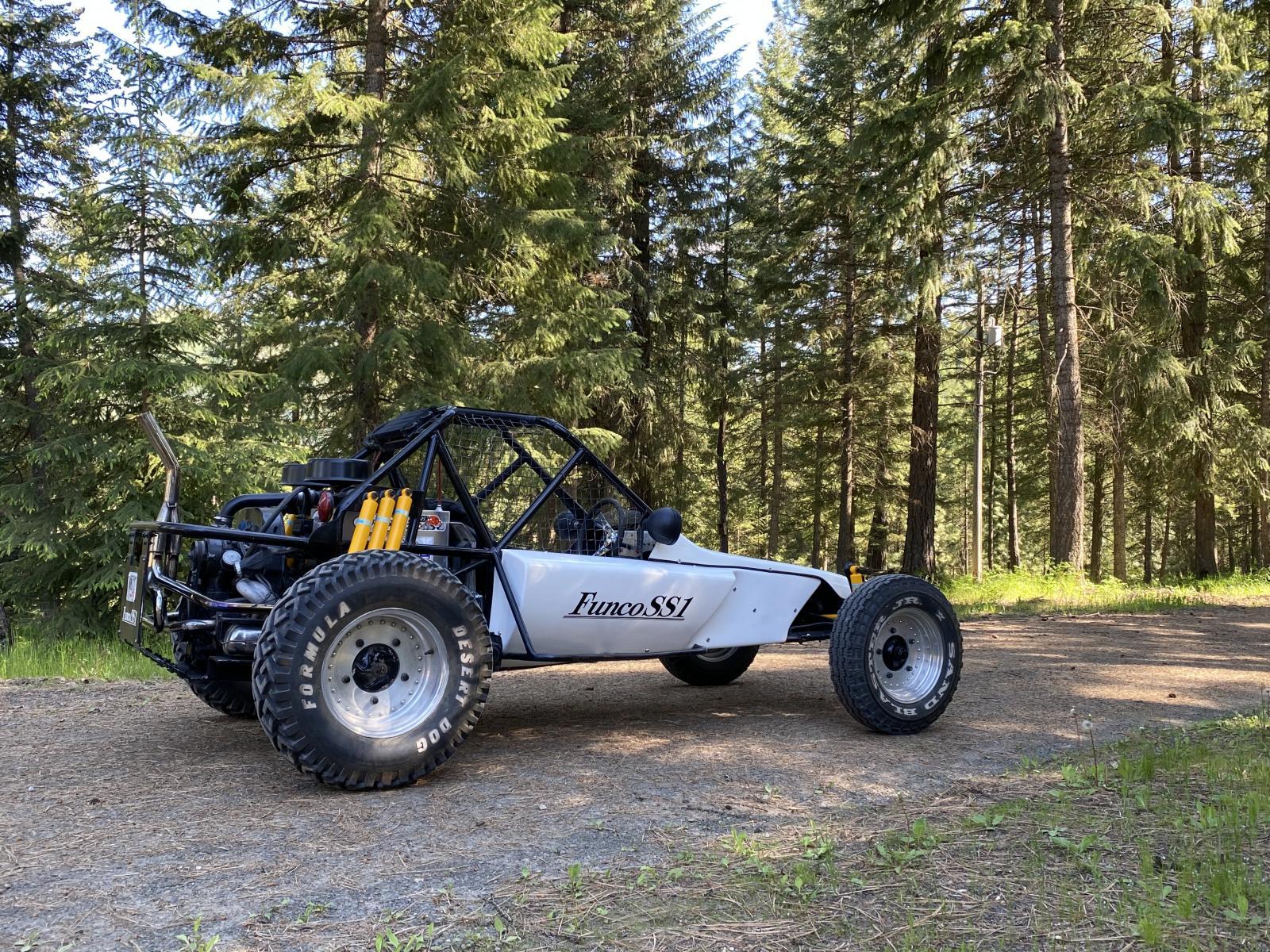 Funco SS1 Desert Race Car
