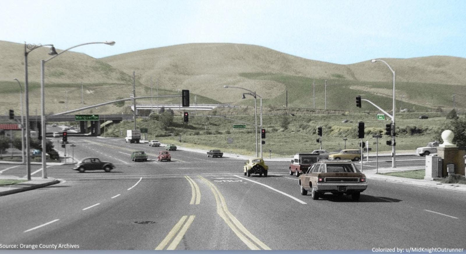 Marguerite and Avery Parkway, Mission Viejo, CA. 1976