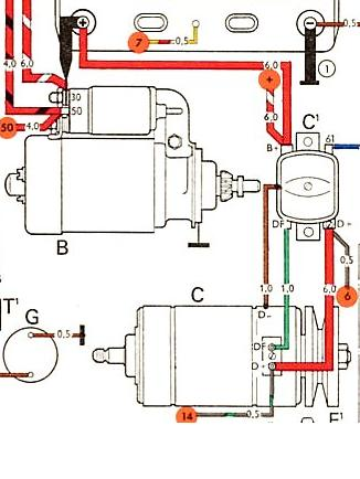 212786 vw beetle starter wiring diagram ignition wire diagram for 1974 vw vw generator to alternator conversion wiring diagram at sewacar.co