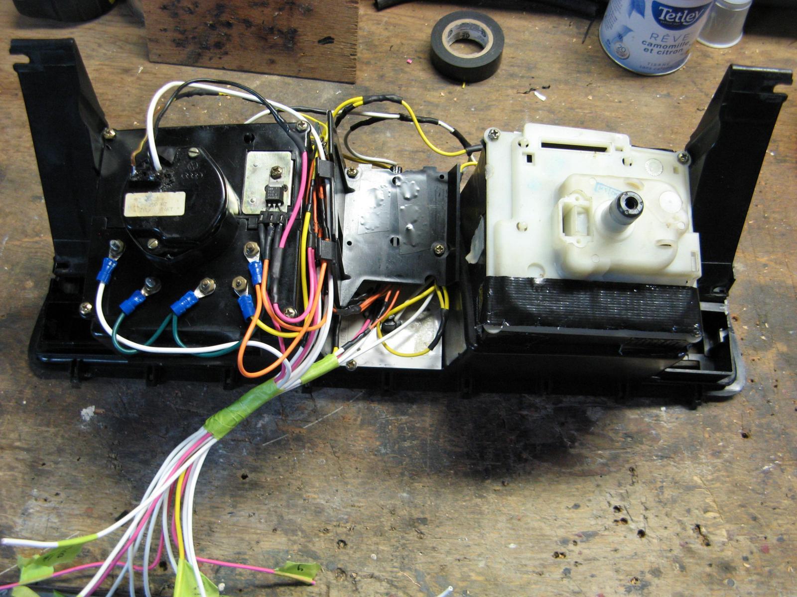 cluster foil repair