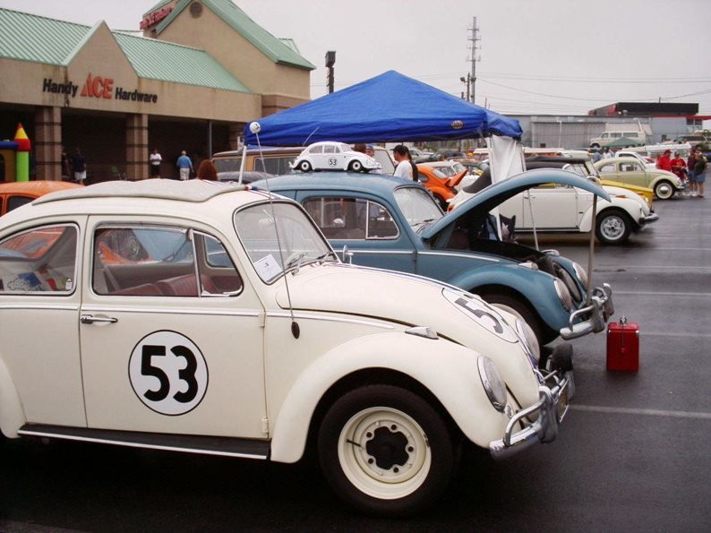 Herbie at the Heart of Dixie VW Car Show