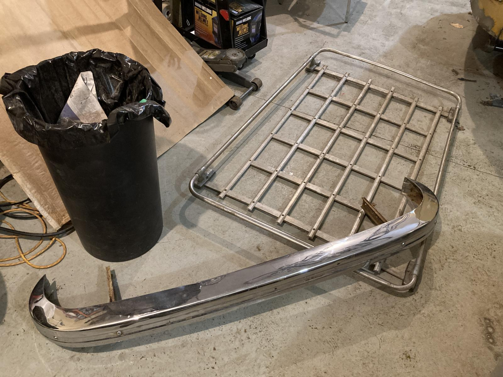 Junkyard parts haul R G Barnum Auto salvage