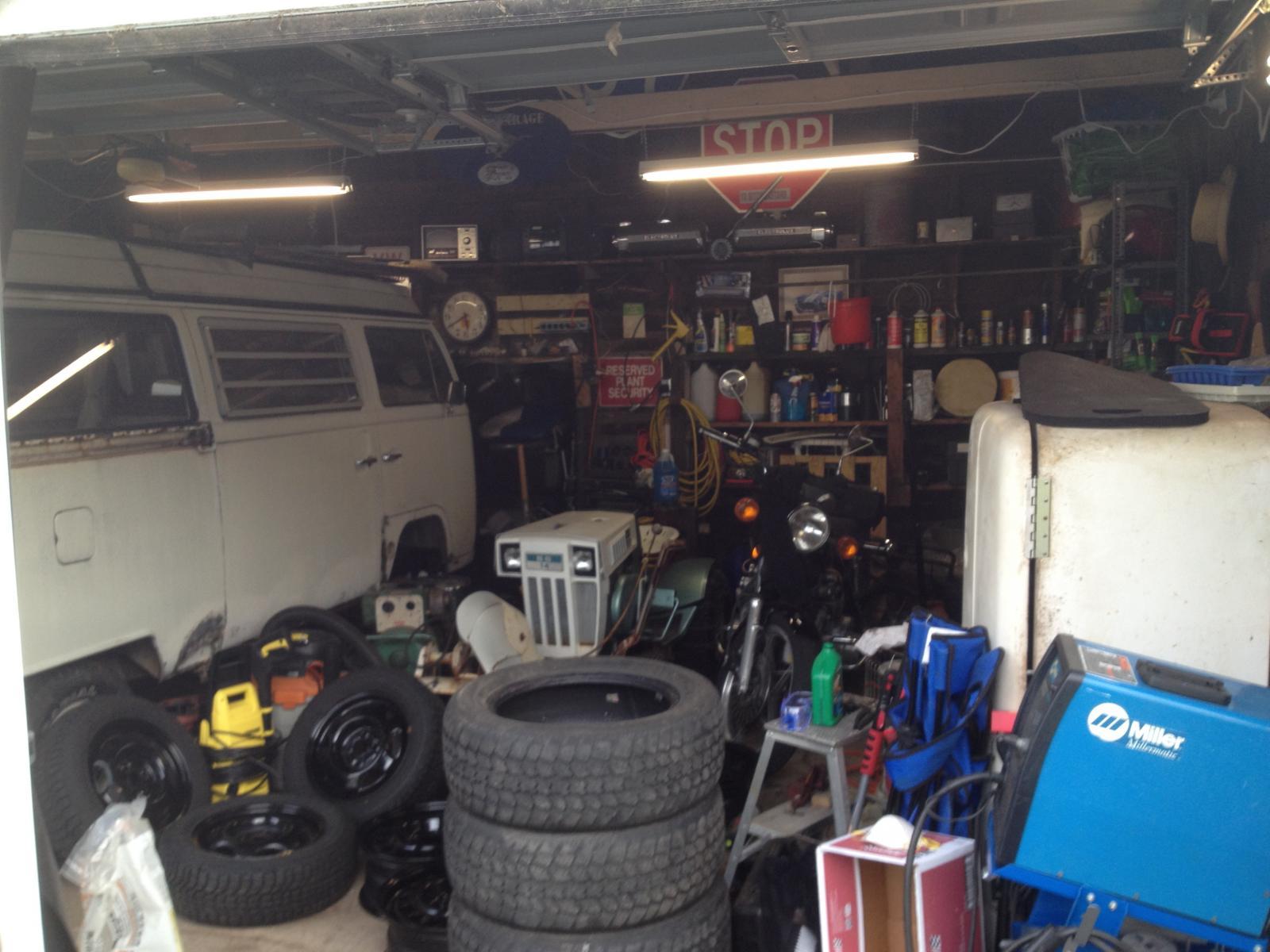 '69 Westy garage still life