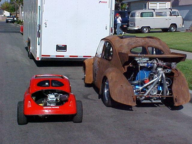 Monster Garage  GGROP Split window Kart & Jessie's